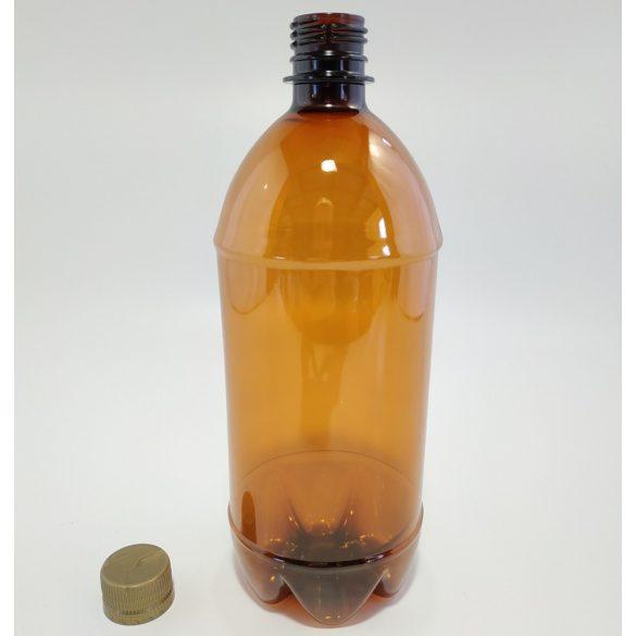1l-es PET palack csavarzárral