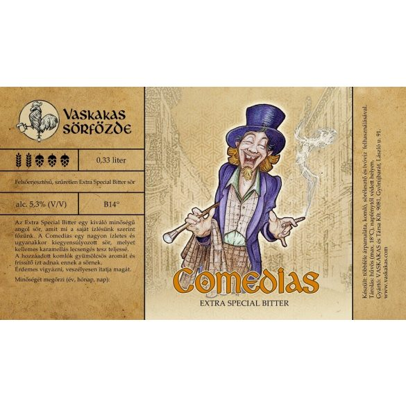 Comedias sör 30L KEG (alc. 5,3%)