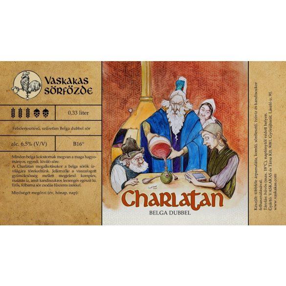 Charlatan sör 20L KEG (alc. 6,5%)