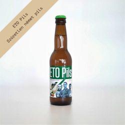 ETO Pils sör 0,33 Palack (alc. 4,4%)