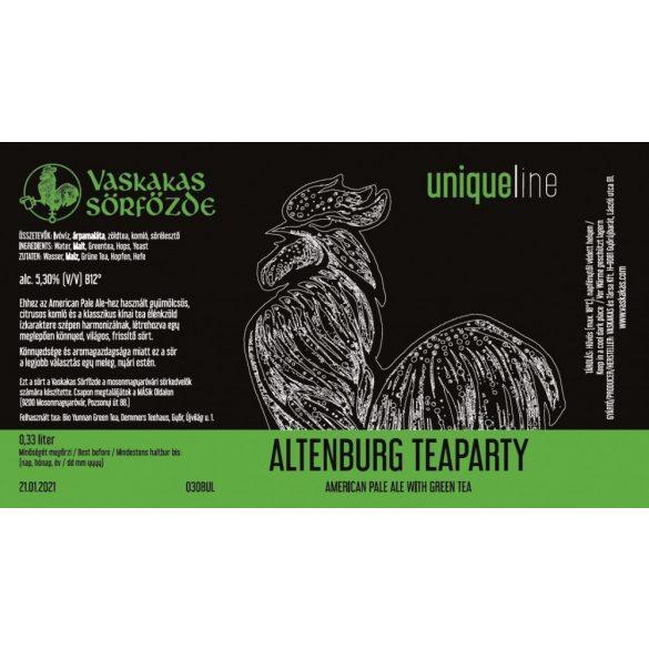 Altenburg Teaparty sör 30L KEG (alc. 5,3%)