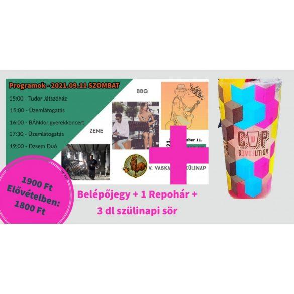 SZOMBAT - SZEPTEMBER 11. - REPOHÁR + 3dl SÖR - ELŐVÉTEL