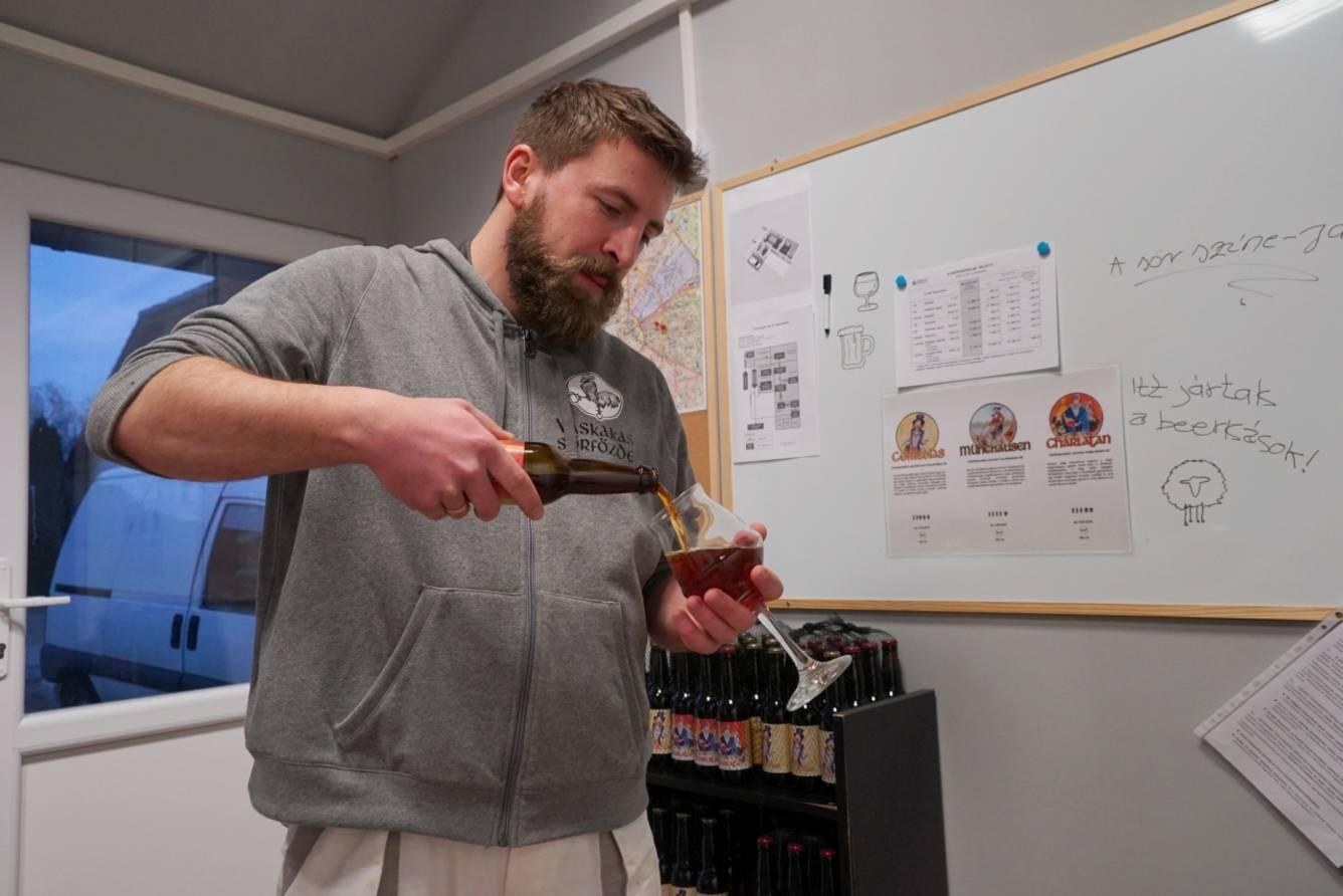 Kóstol a sörfőzőmester